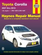 Toyota Corolla Petrol Automotive Repair Manual