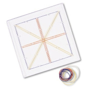 Learning Resources 13cm x 13cm Pin Geoboard