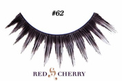 Red Cherry False Eyelashes Style #62