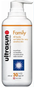 Ultrasun Super Sensitive Sun Protection Family Formula SPF 30 400ml