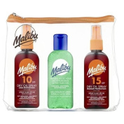 Malibu After Sun Gel Travel Bag with SPF10/ 15, Aloe Vera