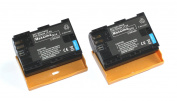 Maxsimafoto - 2x (Twin pack) 2100mAh Battery Pack LP-E6 for Canon 5D Mk II, Mk III, 6D, 7D, 5D2, 5D3, 60D.