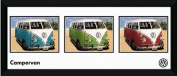 GB eye 80cm x 30cm VW Camper Storyboard Framed Photograph, Assorted