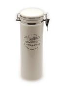 Tognana Sweet Campania Home Spaghetti Storage Jar, White