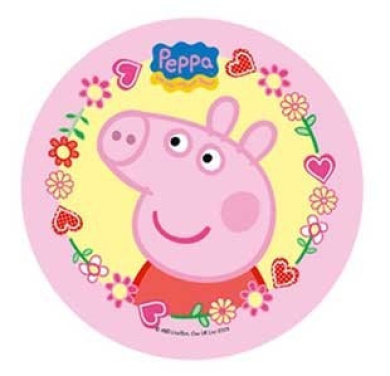 Peppa Pig Cake Topper 21 Cm Edible Wafer Rice I Paper