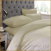 Adamlinens Luxury 100% Egyptian Cotton Percale 200 Thread count Hotel Quality Duvet cover, Quilt cover