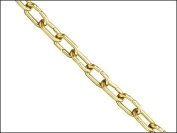 1.4mm x 1.0m Brass Clock Chain Load 5kg