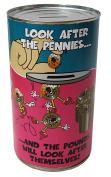 Pennies & Pounds Savings Tin/Money Box -