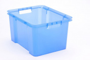 Tontarelli 30 Litre Stack & Store Storage Box 45cm x 36cm x 25cm Brand New
