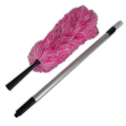 • Microfibre Duster Telescopic Handle Extendable Magic Cleaning Feather Brush Home