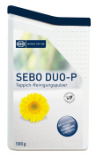 SEBO DUO.P CARPET CLEANING POWDER 0478 WITH BRUSH & BOX