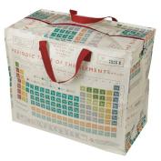 dotcomgiftshop Periodic Table Design Jumbo Storage Bag