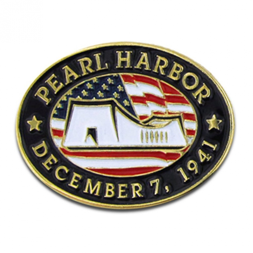 50-Pack-Pearl-Harbour-Remembrance-Lapel-Pin-Pinmart-Free-Delivery