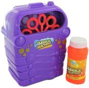 Grafix Childrens Bubble Blowing Machine - Includes Bubble Solution