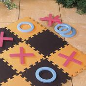 Giant Noughts And Crosses Indoor & Outdoor Garden Game EVA Foam Floor Mat
