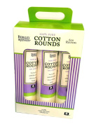 Berkley and Jensen 100% Pure Cotton Rounds 600 ct.