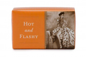 Shannon Martin Vintage Design Humorous 'Hot and Flashy' Soap, Lemongrass, 200ml bar