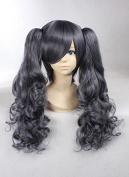 Weeck Anime Kuroshitsuji Ponytail Curly Costume Cosplay Wigs