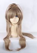 Weeck Long Isuzu Sento Brown Synthetic Lolita Costume Cosplay Wigs