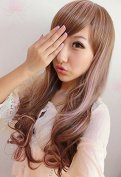 SMILE Wig Harajuku Colourful Cheap Cosplay Ombre Fashion Party Young Types Full Long Curly For Sale Synthetic
