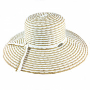 Cappelli Straworld Wide Brim Straw Sun Hat with UPF 50+ Sun Protection