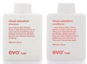 Evo Ritual Salvation Shampoo & Conditioner Travel Size