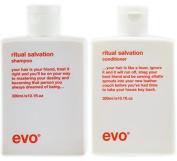 Evo Ritual Salvation Shampoo & Conditioner DUO