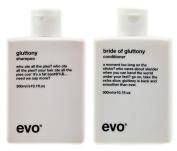 Evo Gluttonty Volume Shampoo & Bride Of Gluttony Conditioner