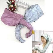 Hair Dryer Soft Hood Home Portable Bonnet Attachment Haircare Salon Hairdressing-Colour Random
