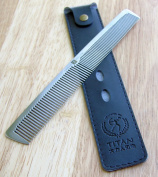 Professional Stainless Steel Comb. 21cm long, 40g weight - WM0019