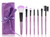 Goege Foundation Brush Kit Makeup Brush Set Cosmetics Foundation Blending Blush Eyeliner Face Powder Brush Makeup Brush Kit Gift Set of 7 Pcs