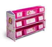 Delta Children 9 Bin Plastic Organiser, Princess