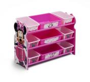 Delta Children 9 Bin Plastic Organiser, Minnie