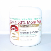 BONUS SIZE Vitamin E & Aloe Cream 15,000 IU - 180ml Jar