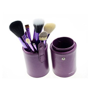 LeexGroup® 12pcs Professional Makeup Brush Set Cosmetic Brush Kit Makeup Tool with Cup Leather Holder Case