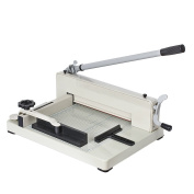 Guillotine Paper Cutter 30cm A4 Professional Industrial Heavy Duty Scrapbooking Metal Base Trimmer Machine 400 Sheet Capacity for Office Commercial Photocopy Printing Shop