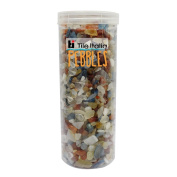 Tile Italia Pebbles Exotic Indian Mixed Onyx Polished Chips CH011 1 Kg - Multi Colour