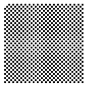 0.6cm Cheques Pattern Stencil - 30cm x 30cm