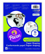 Pacon Creative Cut Ups Animal Masks, 22cm x 28cm Pad, 32 Sheets, 10 Projects