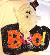 Halloween Jumbo Ghost Boo Balloon 90cm x 90cm