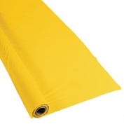 Yellow Extra Long Tablecloth Roll