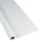 White Extra Long Tablecloth Roll