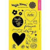 Waffle Flower Crafts Clear Stamps 10cm x 15cm -DT Mix