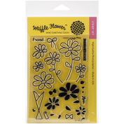 Waffle Flower Crafts Clear Stamps 10cm x 15cm -A Bunch