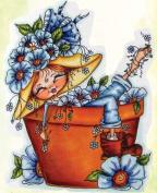 Fancy Pants Garden Dreaming My-Besties Clear Stamp