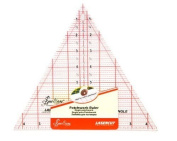 Sew Easy Sew-Easy Patchwork Quilting Ruler 60 Degree Triangle 20cm X 23cm