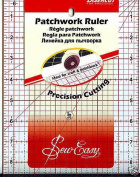 Pandoras Upholstery Sew-Easy Quilters Patchwork Ruler Square 17cm X 60cm