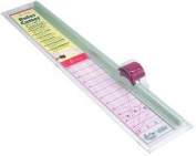Sew Easy Quilt & Sew Ruler/Rotary Cutter For Quilting/Patchwork