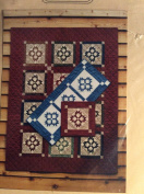 Double Paw Block Runner and Wall Quilt