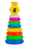 Yellow Bear Stacker Toy